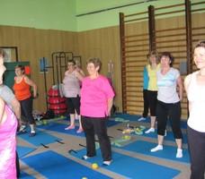 Lázně Slatinice - cvičení pro ženy