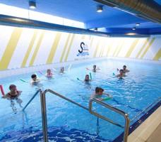 Lázně Slatinice bazén