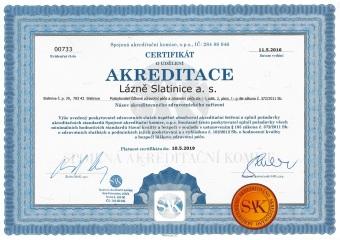 certifikat SAK